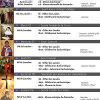 Programme de la Semaine du 28/02 au 07/03/2021
