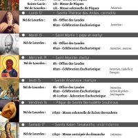 Programme - Semaine du 11 au 18/04/21