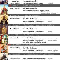 Programme du 18 au 25/04/21