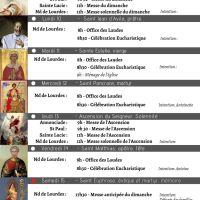 Programme - Semaine du 09 au 16/05/2021
