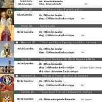 Programme - Semaine du 1er au 08/08/2021